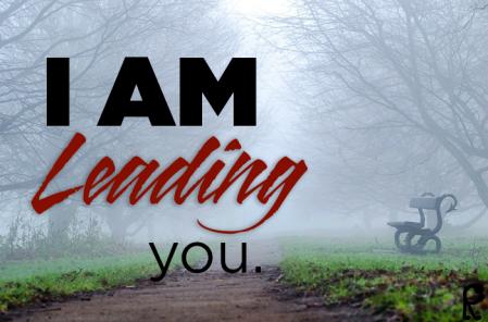 I am leading you