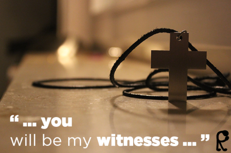 ... you will be my witnesses ...
