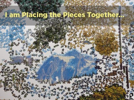 I am Placing the Pieces Together...