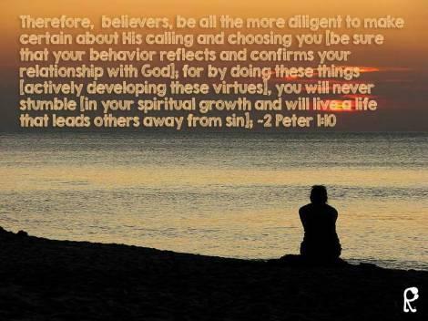 2 Peter 1:10